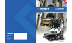 AQUAZURA - Cleaning Sweeper Systems  Brochure