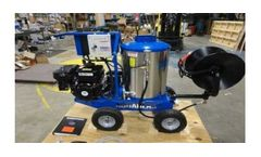 Model P3200GHES - Hot Water Gasoline Self Contained Units