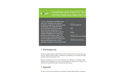 Case Study: Toxaphene and Total DDT Study: Former Pesticides Manufacturer 147