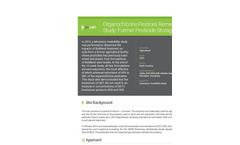 Case Study: Organochlorine Pesticides Remediation Study: Former Pesticide Storage 150