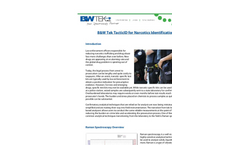B&W Tek TacticID for Narcotics Identification - Application Note