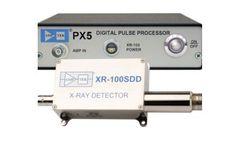 Amptek - Model XR-100SDD - Silicon Drift Detector (SDD)