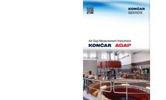 KONCAR - Model AGAP - Air Gap Measurement Instrument Brochure