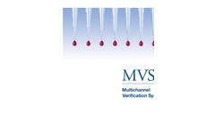 Artel MVS - Multichannel Verification System - Brochure