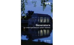 Synchronous Generators for Small Hydroelectric Power Stations Brochure