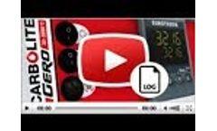 Carbolite Gero 3216p1 Temperature Controller - Data Logging Video