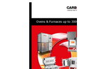 Carbolite - Model AX Series - Laboratory Bench Top Oven - Brochure