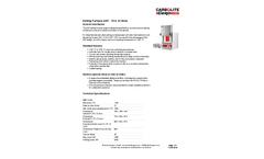 Carbo - Model AAF - 18 & 32 Litres - Ashing Furnace - Datasheet