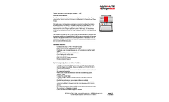 Carbolite - Model AZ Series - Eight Zone Tube Furnace - Datasheet