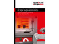 Accessories and Consumables for High-Temperature Furnaces - Brochure