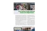 Model 50,25,12 TPH - Single Stream Recycling Systems Brochure