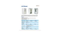 Biobase - Model AS - Air Shower Brochure