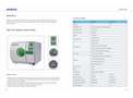 Biobase - Model Class N Series - Table Top Autoclave Brochure