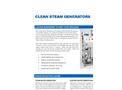 Electric Heated Pure & Clean Steam Generators Brochure