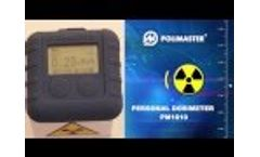 Personal Dosimeter POLIMASTER PM1610 - Video