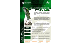 Polimaster - Model PM2012M - Combined Chemical Agent and Gamma Radiation Detector - Brochure
