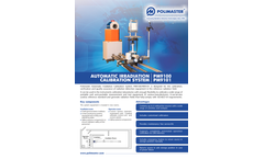 Polimaster - Models PM9101 and PM9100 - Automatic Irradiation Calibration System - Brochure