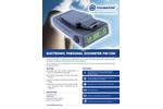 Polimaster - Model PM1300 - Electronic Personal Dosimeter - Brochure