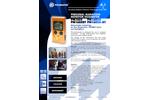 PM1605 PM1605A PM1605BT PM1605A-BT Personal Radiation Monitor/Dosimeter - Brochure