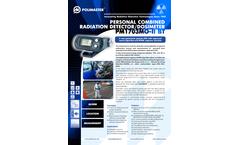 PM1703MO-II BT Personal Combined Radiation Detector/Dosimeter - Brochure