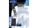 Polimaster - Model PM 1401 K-3P - Multipurpose Hand-Held Radiation Monitor/Identifier - Brochure
