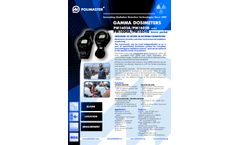 РМ1603А / РМ1603В Gamma Dosimeters - Brochure