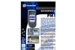 Polimaster - PM1403 - Multipurpose Radiation Monitor - Brochure