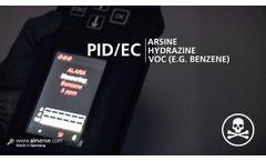 GDA-P - Enhanced Personal Detector - Airsense Video