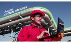 Satelytics: technology to monitor methane emissions - Video