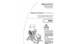 Model SEM.BV - Rotary Pistons Pump Brochure