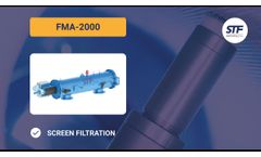 FMA 2000 - Self-cleaning screen filter - STF Filters - English - Video