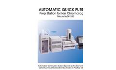 Mitsubishi - AQF-100 - Combustion Ion Chromatography Brochure