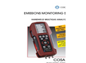 COSA - 707 - Hand Held Multigas Emissions Analyzer for Industrial and Combustion Processes Brochure