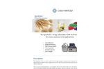 SpinPulse - Model CX-20 - TD-NMR Pulsed Spectrometer Brochure