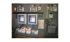 Final effluent monitoring for wastewater treatment industry