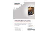 Amplified - Model MCT - Mid-IR Pulsed Laser Detector Brochure