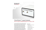 ChemDetect - Unmatched Specificity and Speed Analyzer Brochure