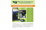 DTI - Model DT-1202 - Acoustic and Electroacoustic Spectrometer for Particle Size & Zeta Potential Analyzer - Brochure