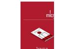 ED-SE1-Pt - Thin Film Single Electrodes Brochure
