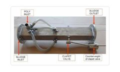 Static Mixer for Sludge Dewatering Polymers