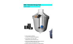 UWO - 3,500L Classic - Rainwater Storage Tank - Brochure