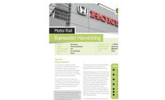 Rainwater Harvesting Case Study - Honda