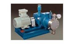 Minimax Pumps - Model MM-IIS1  - Hydraulic Actuated Double Diaphragm Pump