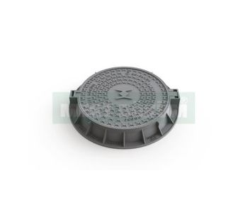 Model M901 - Manhole Cover With Round Frame