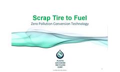 Scrap Tire to Fuel Presentation Brochure