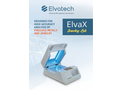 ElvaX Jewelry Lab Spectrometer for Analysis of Precious Metals and Jewelry - Brochure