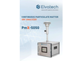 ElvaX PmX-5050 Continuous Particulate Matter XRF Analyzer - Brochure