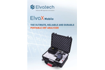ElvaX Mobile Portable and Durable XRF Analyzer - Brochure