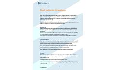 ElvaX Sulfur in Oil Analyzer - Brochure