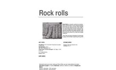 GABION CYLINDRICAL ROCK ROLLS SIZE 2X0.3M